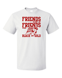 Standard White WISCONSIN FOOTBALL FAN TEE T-shirt