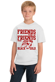 Youth White WISCONSIN FOOTBALL FAN TEE T-shirt