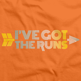 CROSS COUNTRY: I'VE GOT THE RUNS Orange art preview