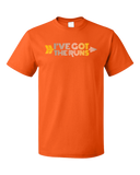 Standard Orange Cross Country: I've Got The Runs - Distance Runner Cross Country T-shirt