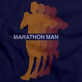 MARATHON MAN Navy art preview