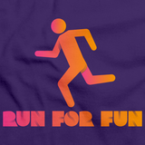 CROSS COUNTRY: RUN FOR FUN! Purple art preview