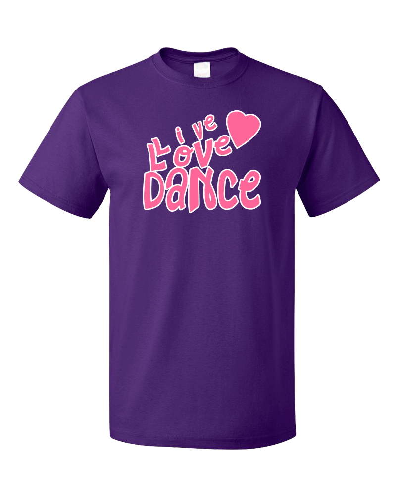 Standard Purple Live Love Dance - Dancer Dance Lover Love To Gift Fun Cute T-shirt