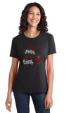 Ladies Black If It Ain't Swing, It Ain't No Thing - Lindy Hop Swing Dancer T-shirt