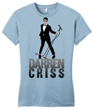Girly Light Blue Darren Criss Tuxedo Pose T-shirt