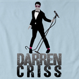 Darren Criss Tuxedo Pose Light blue art preview