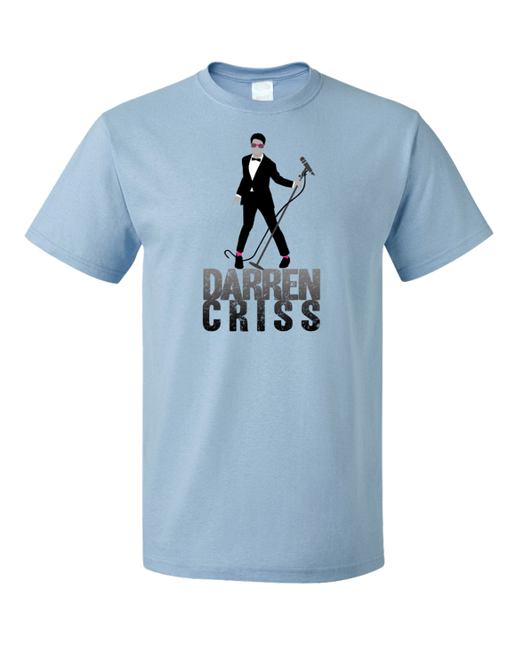Standard Light Blue Darren Criss Tuxedo Pose T-shirt