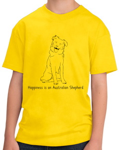 Youth Yellow Happinesse is an Australian Shepherd - Australian Shepherd Lover