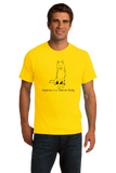 Standard Yellow Happiness is a Siberian Husky - Siberian Husky Dog Lover T-shirt