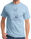 Standard Light Blue Boys, Girls, & Chihuahuas - Chihuahuas Dog Parent Lover Funny T-shirt