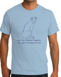 Standard Light Blue Boys, Girls, & Rhodesian Ridgebacks = Kids - Rhodesian Ridgeback T-shirt