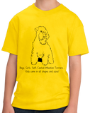 Youth Yellow Boys, Girls, & Soft Coated Wheaten Terriers = Kids T-shirt