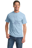 Standard Light Blue I Love my Border Collie - Border Collie Cute Love Owner Parent T-shirt