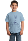 Youth Light Blue I Love my Golden Retriever - Golden Retriever Owner Lover Dog T-shirt