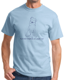 Standard Light Blue Australian Shepherds are People, Too! - Aussie Love Owner Parent T-shirt