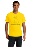 Standard Yellow Bernese Mountain Dogs are People, Too! - Bernese Mountain Dog T-shirt