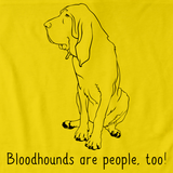 BLOODHOUNDS ARE PEOPLE TOO! Yellow Art Preview