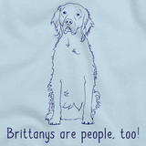 BRITTANYS ARE PEOPLE TOO! Light blue Art Preview