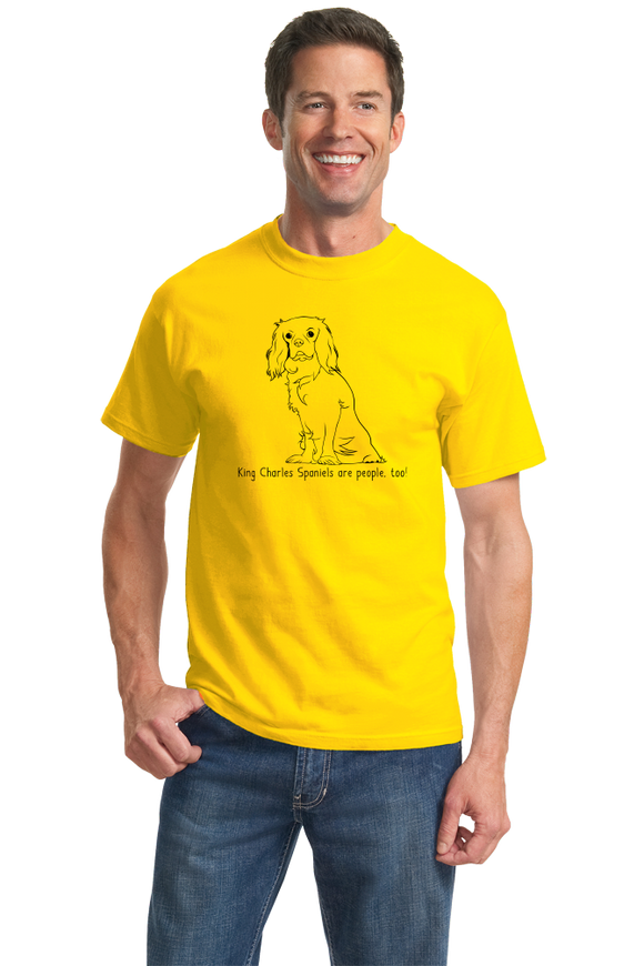 Standard Yellow King Charles Spaniel - King Charles Spaniel Owner Love T-shirt