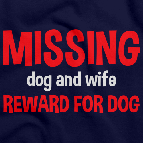 MISSING DOG AND WIFE. REWARD FOR DOG. Navy art preview