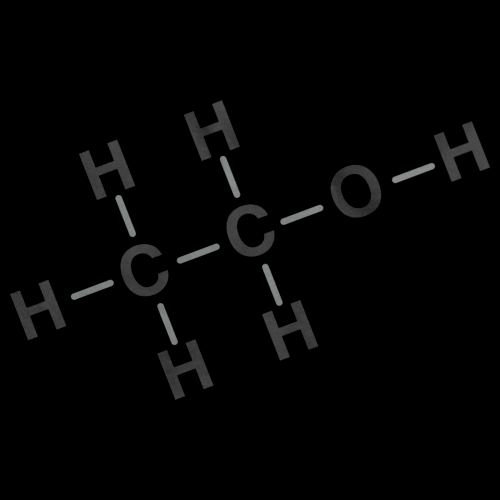 Alcohol Chemical Formula | Drinking Chemistry Black Art Preview