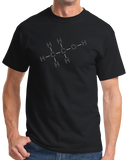 Standard Black Alcohol Chemical Formula - Drinking Chemistry Diagram Alcohol T-shirt