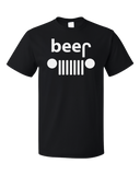 Standard Black Beer Drinking Off-Road Trucking Humor - Funny Beer Spoof Alcohol T-shirt