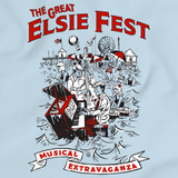 The Great Elsie Fest 2016 Light blue Art Preview