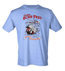Standard Blend Light Blue The Great Elsie Fest 2016 T-shirt