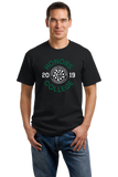 Unisex Black EMU HONORS CLASS OF '19 CIRCLE T-shirt