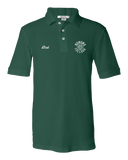 Unisex Pique Polo Forest Green EMU Honors College Dad Polo T-shirt