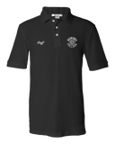 Unisex Pique Polo Black EMU Honors College Staff Polo T-shirt