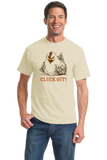 Standard Natural Cluck Off - Farm Humor Double Meaning Rude Joke Chicken Funny T-shirt
