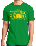 Unisex Green Farmer's Daughter - Country Girl Pride Cute Farmer's Daughter
