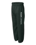Youth Cuffed Sweatpant Forest Green Youth Elastic Cuff Sweat Pant Sweatpants