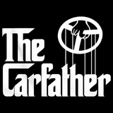 The Carfather Black V-Neck Black Art Preview