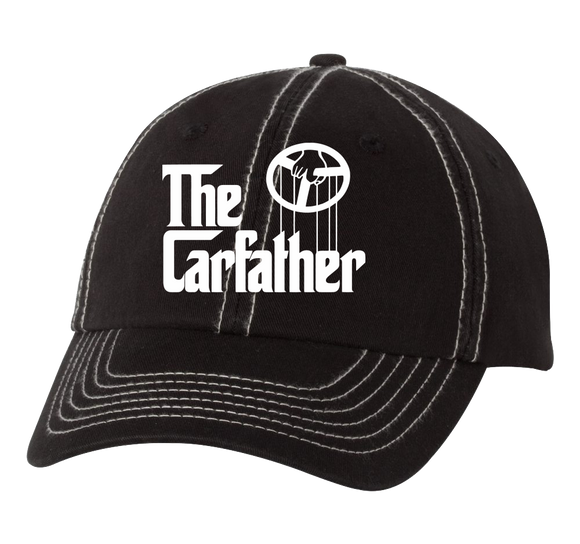 Low Profile Hat Black/Stone The Carfather Black Hat