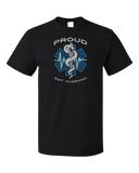 Standard Black Proud EMT Husband - Proud Husband to Paramedic EMT T-shirt