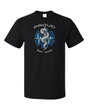 Standard Black Proud EMT Wife - Proud Wife to Paramedic EMT T-shirt