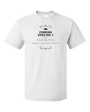 Standard White A Bad Day Fishing Beats A Good Day Working - Fishing Humor Work T-shirt
