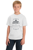 Youth White A Bad Day Fishing Beats A Good Day Working - Fishing Humor Work T-shirt