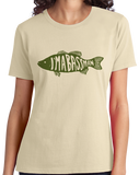 Ladies Natural I'm A Bass Man - Proud Fisherman Bass Humor Double Meaning Funny