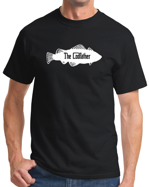 Standard Black THE CODFATHER T-shirt