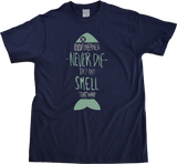 Unisex Navy Old Fisherman Never Die…They Just Smell That Way - Fishing Joke