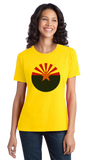 Ladies Yellow Arizona State Flag - Arizona State Flag Desert Sedona Phoenix T-shirt