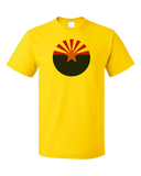 Standard Yellow Arizona State Flag - Arizona State Flag Desert Sedona Phoenix T-shirt