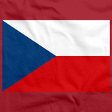 Czech Republic Flag Red Art Preview