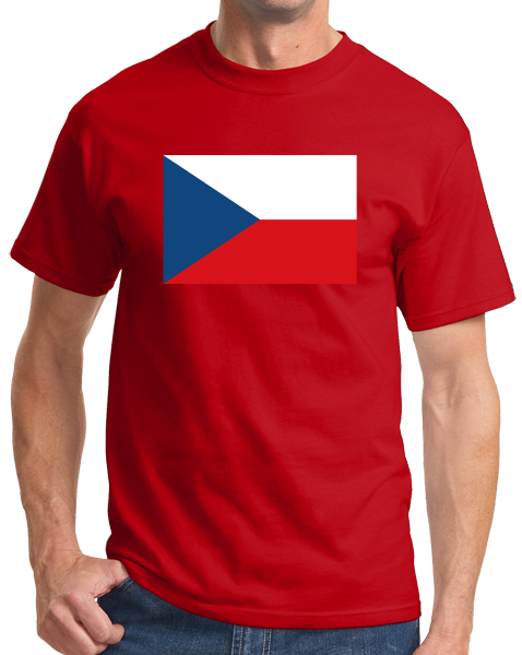 Standard Red Czech Republic Flag - Czech Republic Heritage Pride Ancestry T-shirt