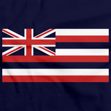 Hawaii State Flag Navy art preview