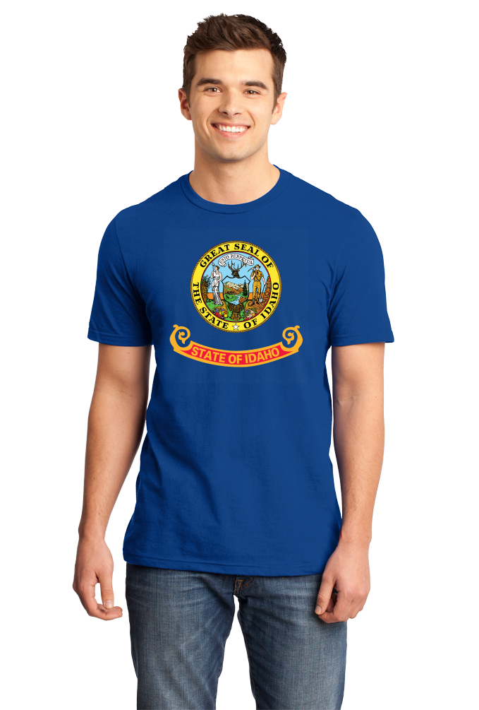 Standard Royal Idaho State Flag - Idaho State Flag Heritage Pride Home Love T-shirt